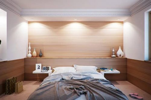 Spálňa je miestom, kde si môžete oddýchnuť